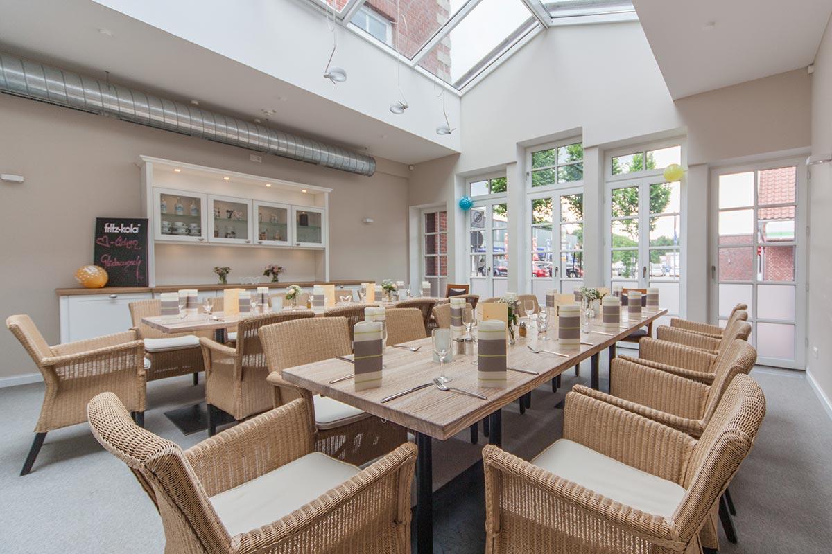 Gastronomie Wintergarten