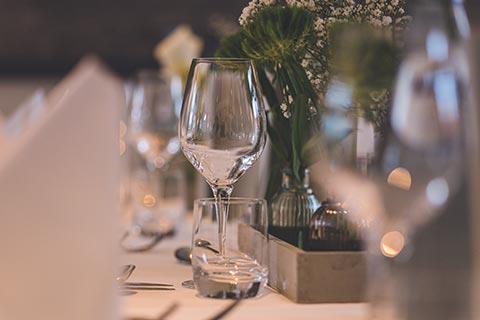 Hochzeitstafel nah