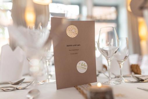 Hochzeitstischkarte