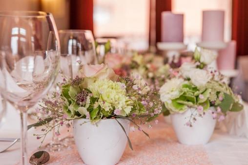 Hochzeitstischdeko